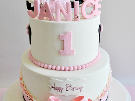 Minnie Mouse Cake for Janice