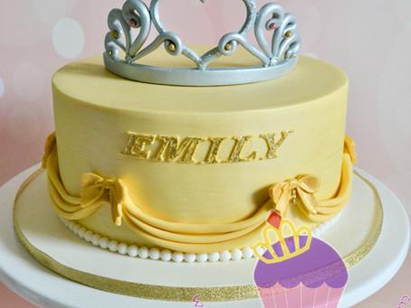 Princess Belle Cake for Emily