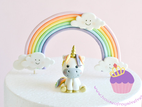 Unicorn Sugar Topper