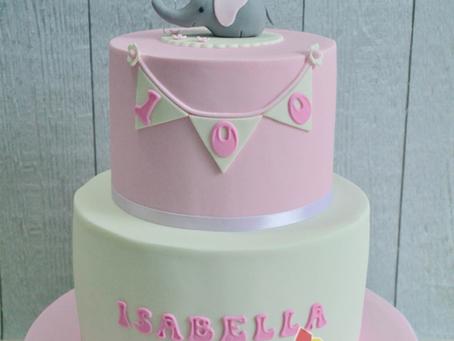 Elephant Cake for Isabella