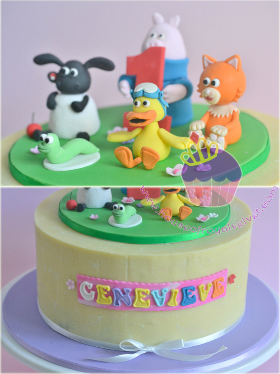 timmy time cake toppers