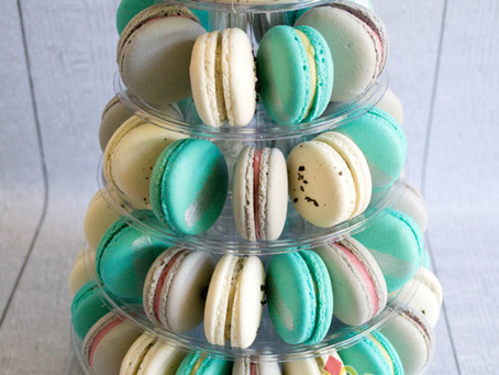 Macarons Tower for Baby Shower