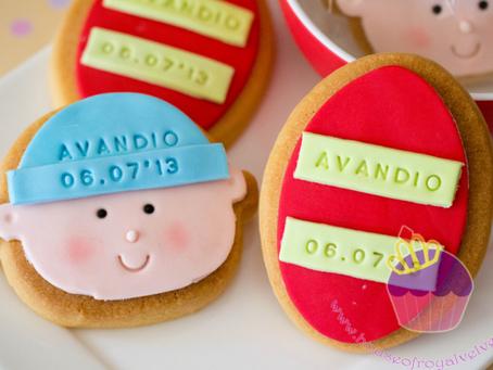 Full Month Cookies for Avandio