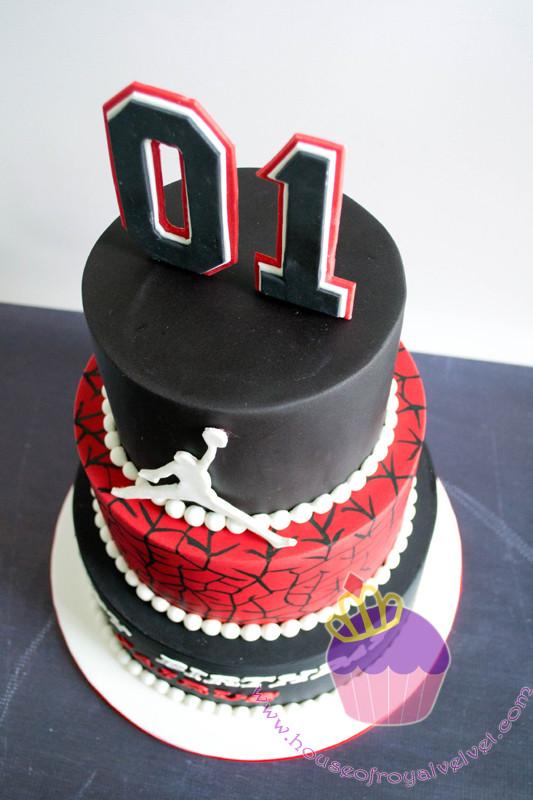 Remarkable Michael Jordan Cake For Jairus Funny Birthday Cards Online Elaedamsfinfo