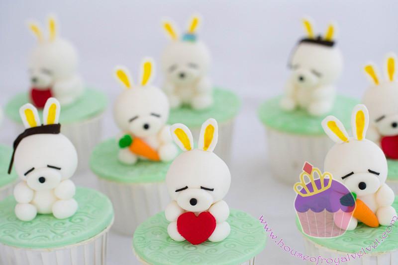 mashimaro cupcakes