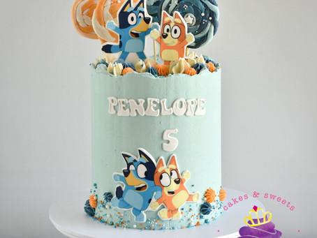 Bluey Cake