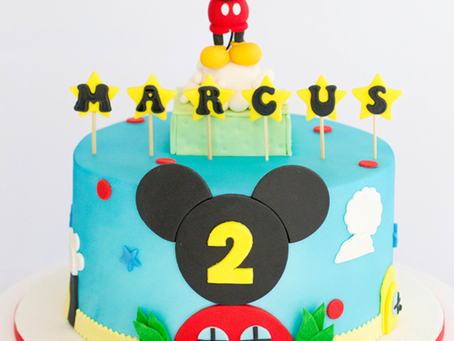 Mickey Mouse Cake for Marcus