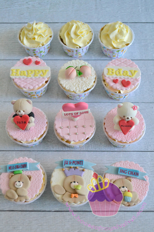 forever friends cupcakes