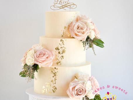 Wedding Cake for Paul + Bianca