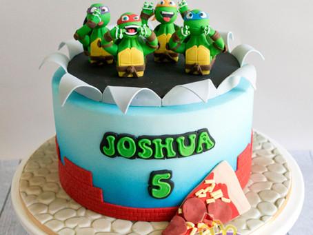 Ninja Turtles Cake for Joshua