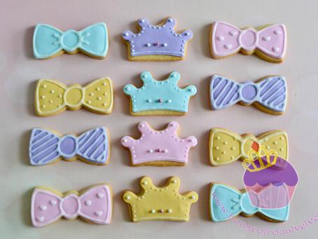 Bow & Tiara Cookies for Aimee
