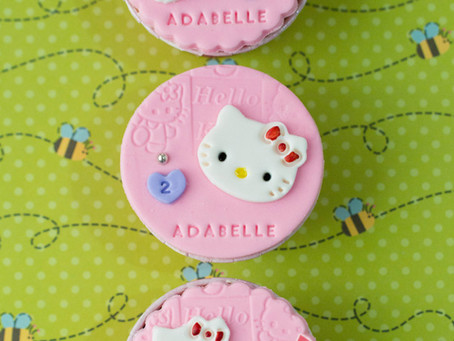 Hello Kitty Cupcakes for Adabelle