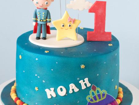 Little Baby Bum Cake for Noah