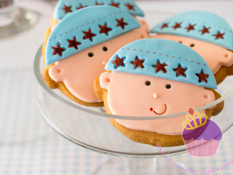 Baby Shower Cookies & Cupcakes