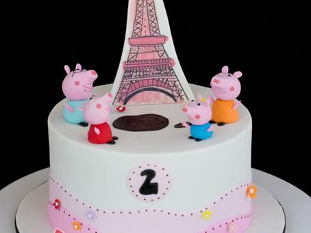 Peppa Pig Cake for Aelis
