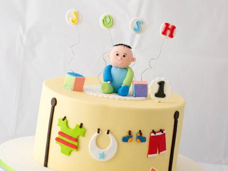 1st Birthday Cake for Josh