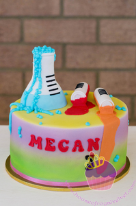 beaker cake