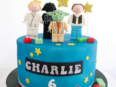 Lego Starwars Cake for Charlie