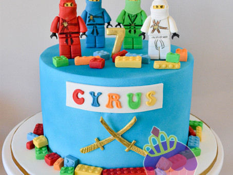 Ninjago Cake for Cyrus