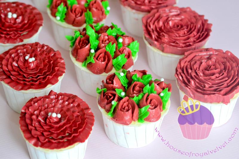 ruffles cupcakes