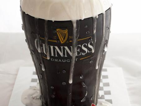 Guinness Beer Cake for Andrew