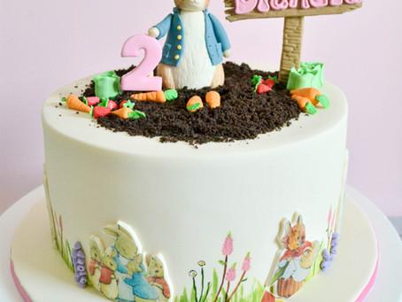 Peter Rabbit Cake for Diandra