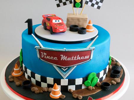 McQueen Cake For Vince Matthew