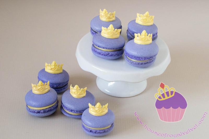 tiara macarons
