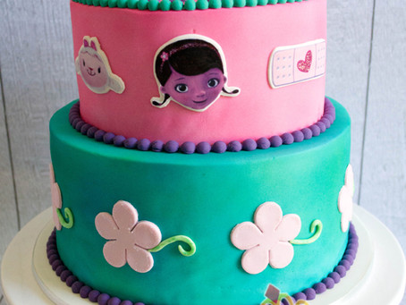 Doc McStuffin Cake for Eleora