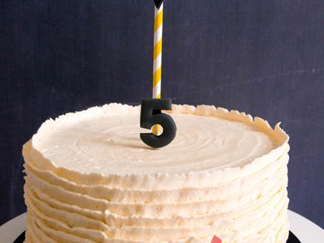Ruffled Buttercream Cake for James