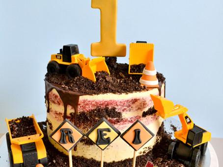 Truck Cake For Rei