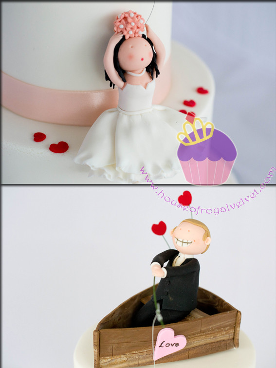 wedding cake couple toppers