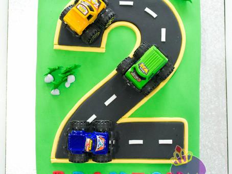 Number 2 Cake for Branton