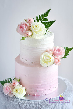 kenny + erica cake