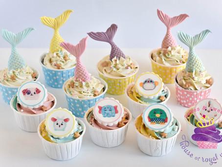 Pikmi Pops & Mermaid Cupcakes