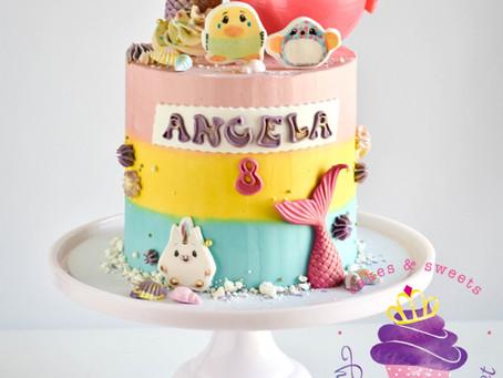 Pikmi Pops & Mermaid Cake