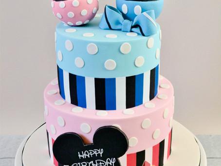 Mickey Minnie Cake for Jake & Daphne