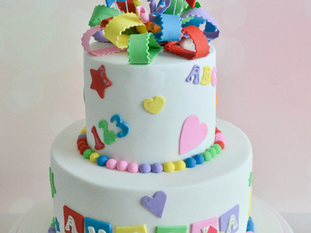 ABC cake for Amelia
