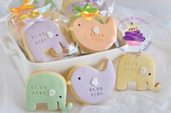 elephant bird cookies