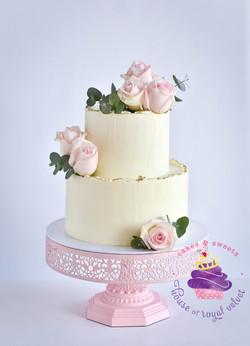 tara + adam cake