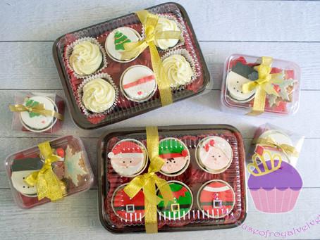 Christmas Cupcakes Boxes 2015