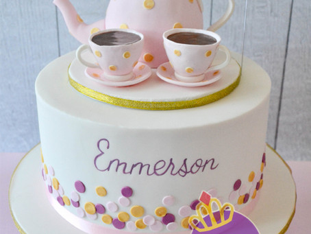 Tea Party Cake for Emmerson