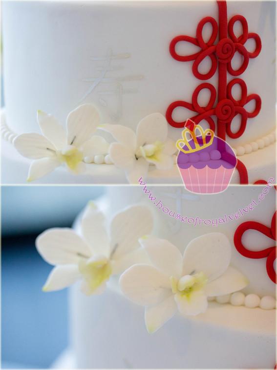fondant orchids