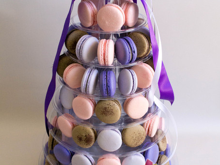Wedding Macarons Tower for Sophie