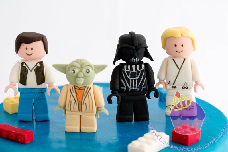 starwars lego cake