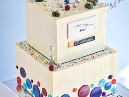 Anniversary Cake for JDLC Curtin Uni