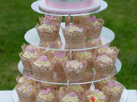 Wedding Cake & Cupcakes for Jenny & Marco
