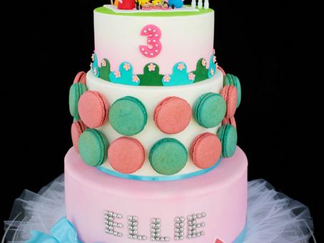 Peppa Pig Cake for Ellie
