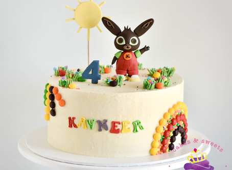 Bing the Rabbit Cake