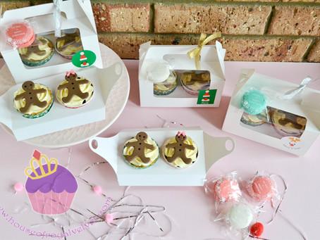 Gingerbread Boy & Girl Cupcakes